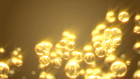 Champagne bubble Animation
