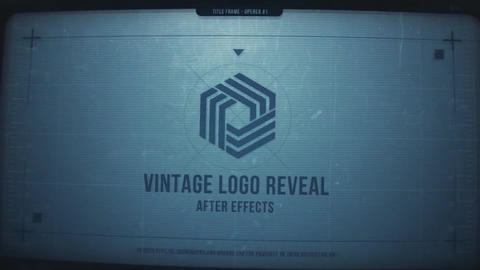 Vintage Logo Reveal After Effects Template