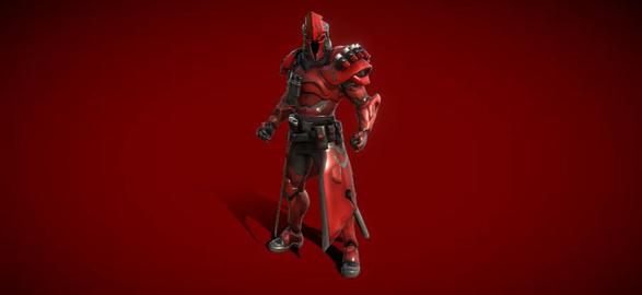 Fortnite ultima knight 3d 3D Model