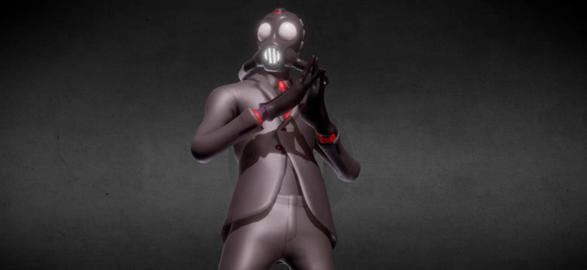 Fortnite chaos agent 3d model 3D Model