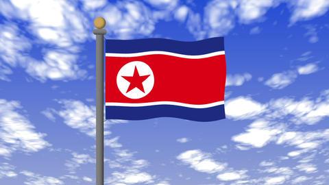 Flag of North Korea 動畫