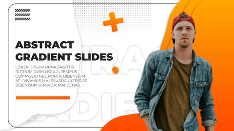 Abstract Gradient Slides After Effects Template