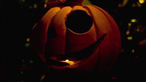 1080p Halloween Pupmkin / Jack-O'-Lantern ภาพวิดีโอ