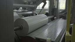 Running machine at the factory Footage