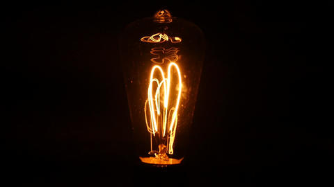 incandesent lamp Footage