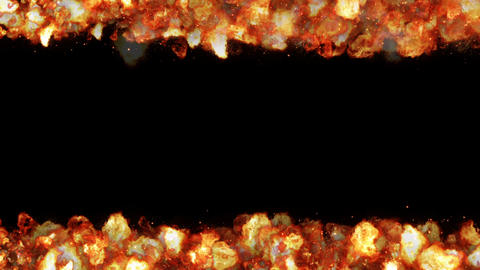 explosion fire particle loop animation Animation