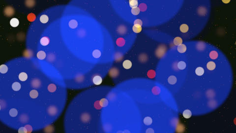 Abstract bokeh particles falling happy new year merry christmas happy birthday day shiny background Live Action