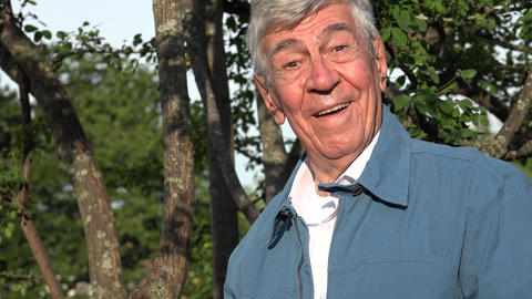 Happy Elderly Old Man Live Action
