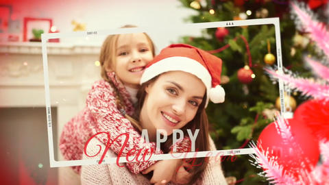 Christmas and Happy New Year Story Apple Motion Template