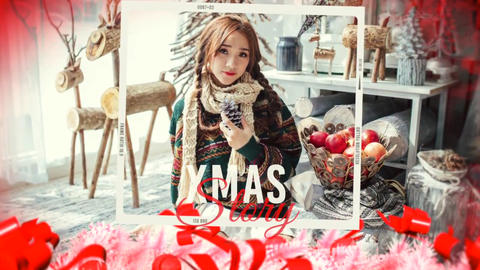 Christmas and Happy New Year Story Plantilla de Apple Motion