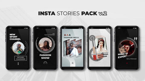 Insta Stories Pack v 2 After Effects Template