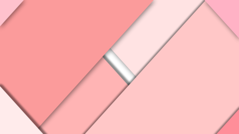 Opening up Transition Pink Animation