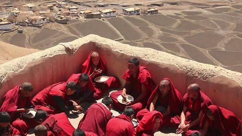 Key Temple Monks Roof Footage