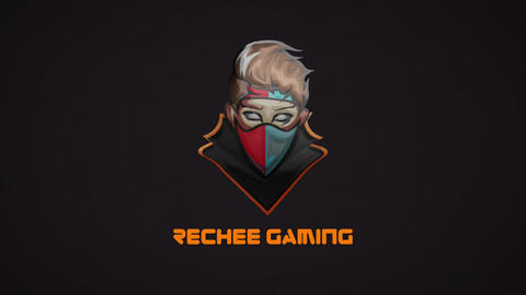Gaming Glitch Logo After Effects Template