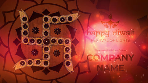 Happy Diwali - Deepavali Greeting Titles - Mogrt Motion Graphics Template