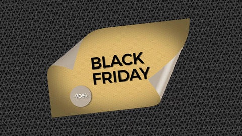 Black Friday Opener After Effects Template
