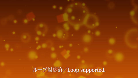 クリスマスパーティクルループ free After Effectsテンプレート