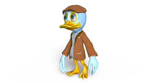 Duck Walk Animation