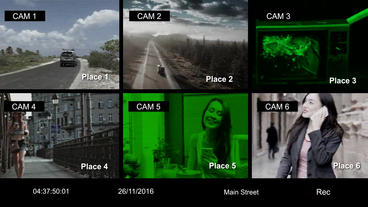 CCTV Effect Creator After Effects Project