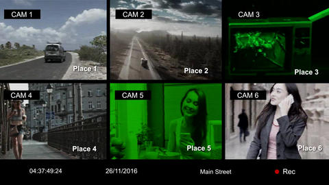CCTV Effect Creator After Effects Template