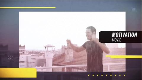 Sport Glitch Promo After Effectsテンプレート
