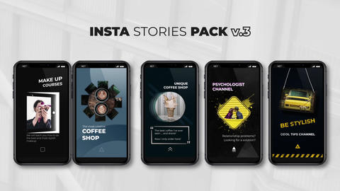 Insta Stories Pack v 3 After Effects Template