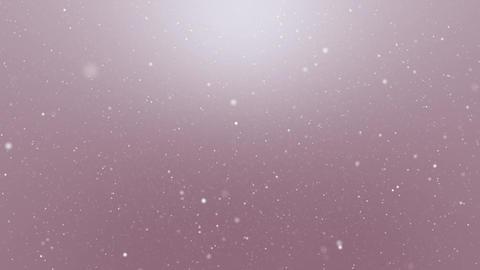Snowfall Pink Background Loop Animation