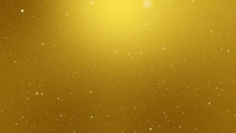 Snowfall Yellow Background Loop Animation