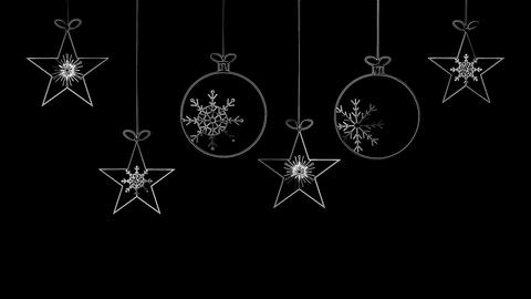 Winter Ornaments Animation