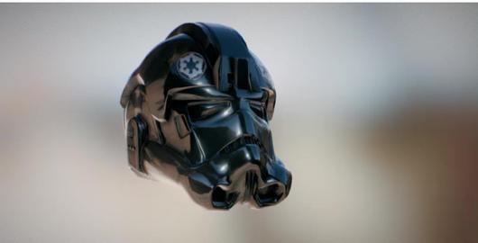 Tie pilot helmet star wars model 3D Model