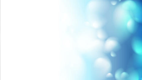 Bokeh clean blue winter fashion light video clip Animation