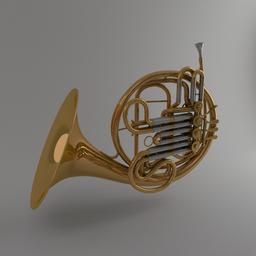 Horn 3Dモデル