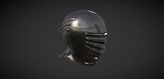 Maximilian helmet 3D Model