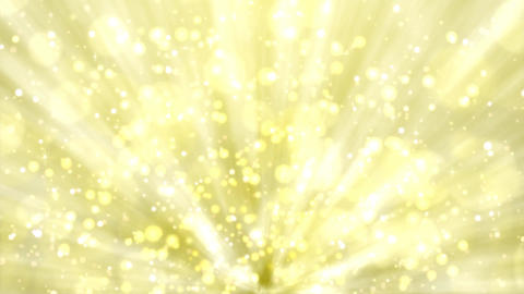 Yellow lights on light yellow background Animation