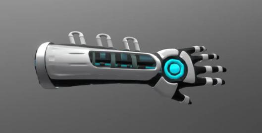 Energy gauntlet 3D Model