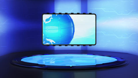 News Platform World Map News Platform 2 Animation