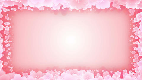 Spin of plum blossoms,CG Animation,Particle,Frame Animation