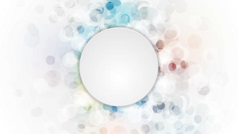 Abstract colorful grunge circles video animation Animation