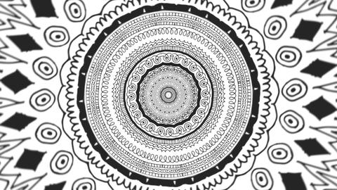 Black and White Swirl Animation