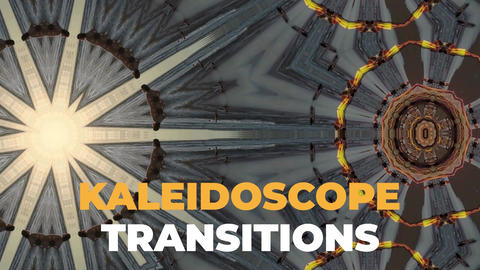 Kaleidoscope Transitions After Effects Template