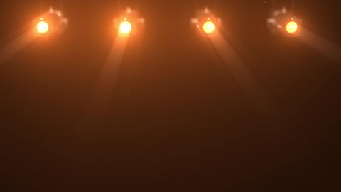 3D background theatrical spotlight 2 Animation
