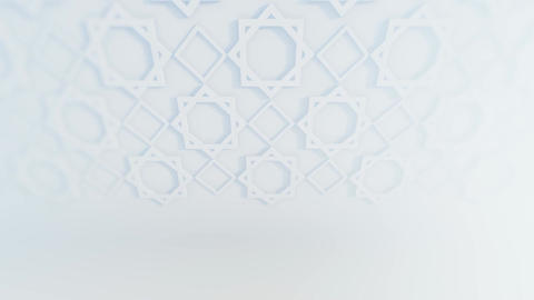 Islamic Decoration And Persian Ornament With White Background 2 Animation