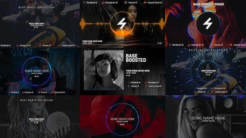 Music Visualizer V 1 After Effects Template