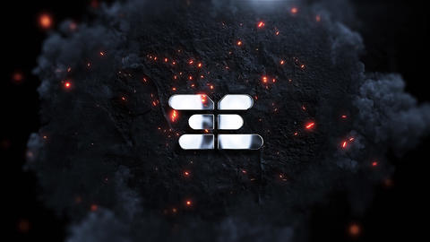 Logo Stomp Explosion After Effects Template