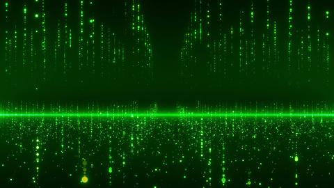 SHA Particle array Image Green Animation