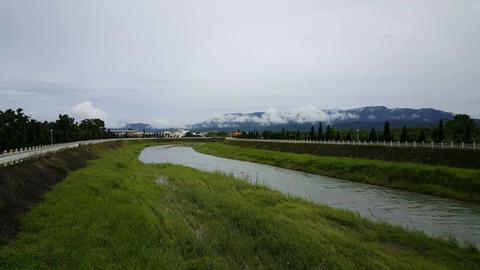 Guanghuanjingguan Bridge, Guangfu township Footage