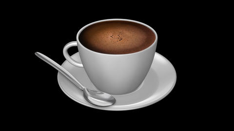 Coffee Espresso - Isolated Cup Animation