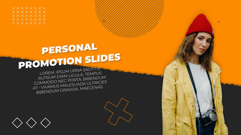 Personal Promotion Slides After Effects Template
