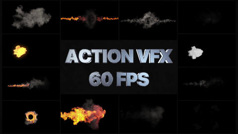 VFX Action Pack After Effects Template