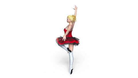 UHD-Ballerina Animation